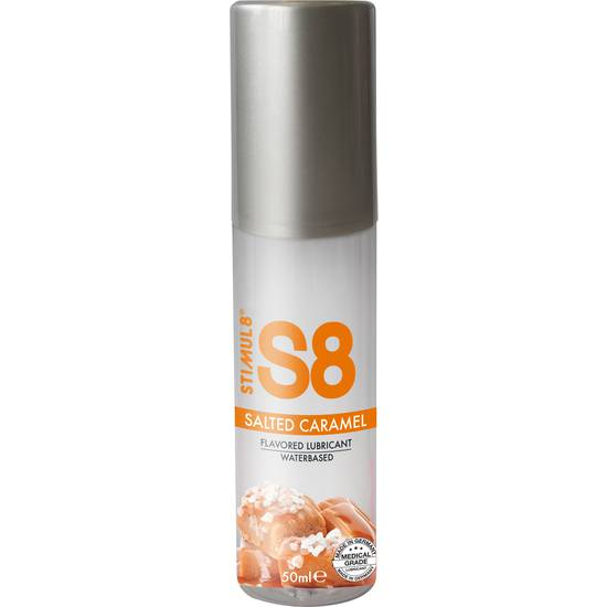 S8 LUBRICANTE SABORES 50ML - CARAMELO - Cosmética Erótica con sabores - Sex Shop ARTICULOS EROTICOS