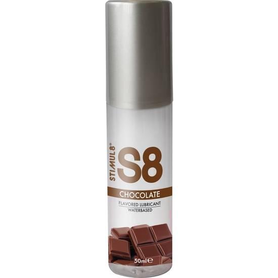 S8 LUBRICANTE SABORES 50ML - CHOCOLATE - Cosmética Erótica con sabores - Sex Shop ARTICULOS EROTICOS