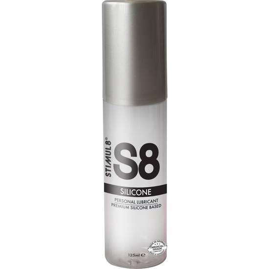 S8 LUBRICANTE SILICONA PREMIUM 125ML - Cosmética Erótica con Base de Silicona - Sex Shop ARTICULOS EROTICOS