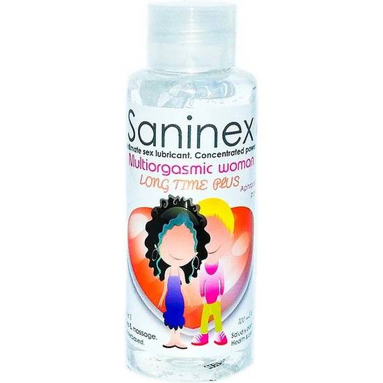 SANINEX MULTIORGASMIC WOMAN LONG TIME PLUS 100ML - Cosmética Erótica con Base de Agua - Sex Shop ARTICULOS EROTICOS