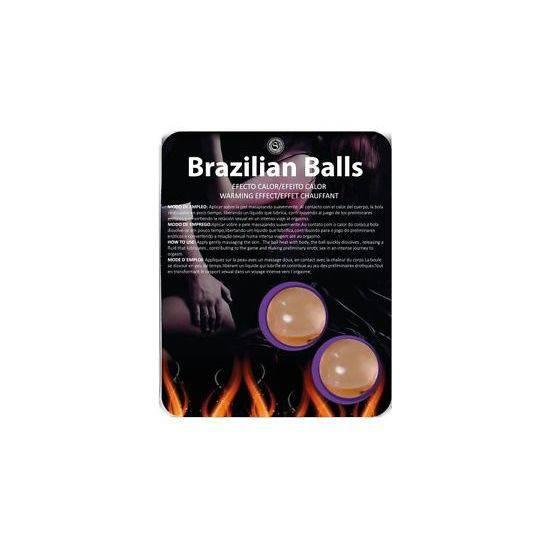 SECRET PLAY BRAZILIAN BALLS EFECTO CALOR - Cosmética Erótica con Efecto Calor - Sex Shop ARTICULOS EROTICOS