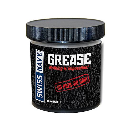 SWISS NAVY GREASE LUBRICANTE DE ACEITE 473 ML - Cosmética Erótica Natural - Sex Shop ARTICULOS EROTICOS