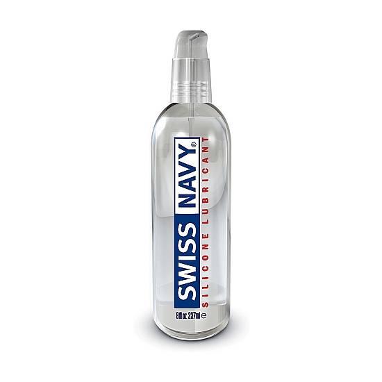 SWISS NAVY LUBRICANTE SILICONA 240ML - Cosmética Erótica con Base de Silicona - Sex Shop ARTICULOS EROTICOS