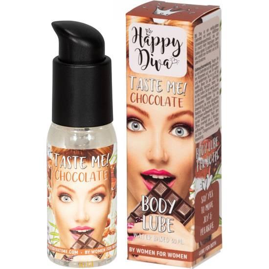 TASTE ME BODY LUBRICANTE 50ML - CHOCOLATE - Cosmetica Erótica Aceites Aromáticos - Sex Shop ARTICULOS EROTICOS