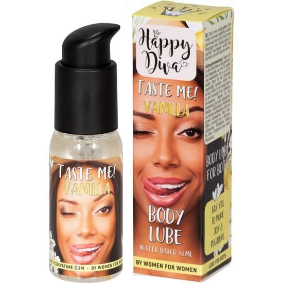TASTE ME BODY LUBRICANTE 50ML - VAINILLA - Cosmetica Erótica Aceites Aromáticos - Sex Shop ARTICULOS EROTICOS