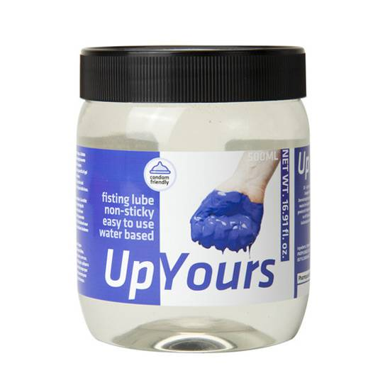 UP YOURS LUBRICANTE 500 ML - Cosmética Erótica Natural - Sex Shop ARTICULOS EROTICOS