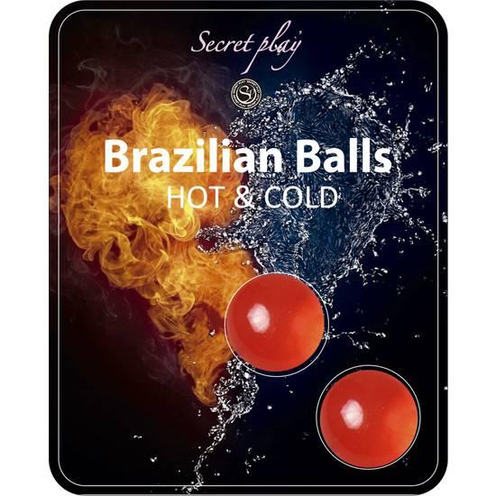 SET 2 BRAZILIAN BALLS FRÍO/CALOR - Cosmética Erótica Varios - Sex Shop ARTICULOS EROTICOS