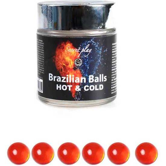 TARRO 6 BRAZILIAN BALLS FRÍO/CALOR - Cosmética Erótica Varios - Sex Shop ARTICULOS EROTICOS