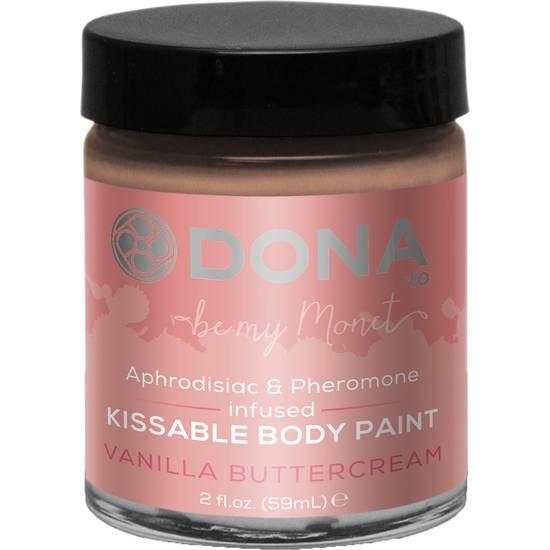 PINTURA CORPORAL DE VAINILLA 60 ML - Body Paint Cosmética Erótica - Sex Shop ARTICULOS EROTICOS