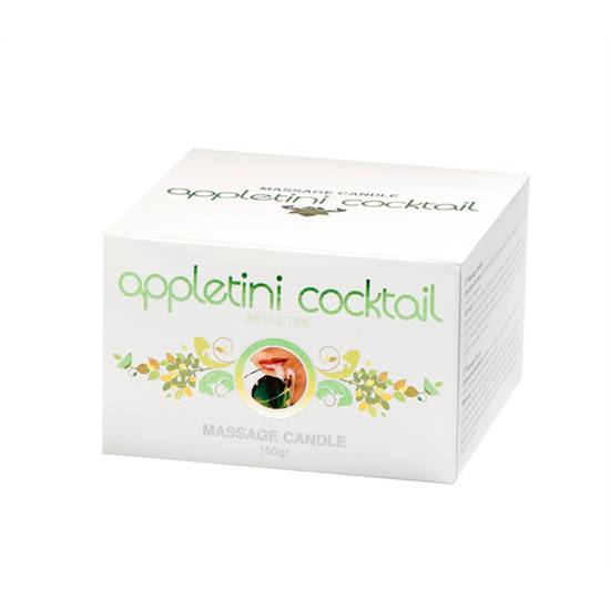 COBECO VELA APPLETINI COCKTAIL - Afrodisiácos Velas - Sex Shop ARTICULOS EROTICOS