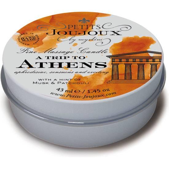 KIT 5 PIEZAS CANDLE ATHENS REFILL - JAZMÍN - Afrodisiácos Velas - Sex Shop ARTICULOS EROTICOS