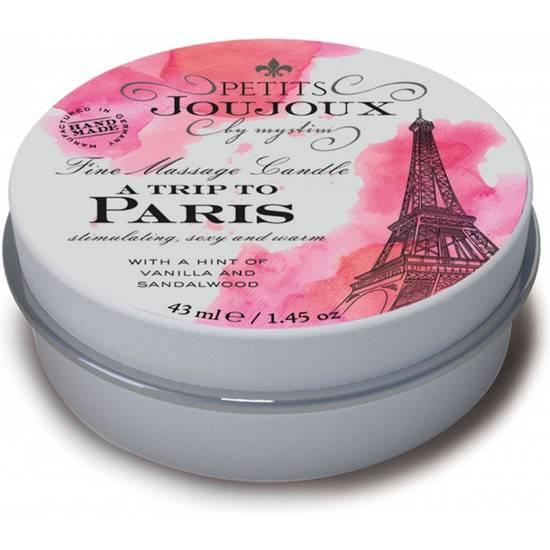 KIT 5 PIEZAS CANDLE PARIS REFILL - VAINILLA - Afrodisiácos Velas - Sex Shop ARTICULOS EROTICOS