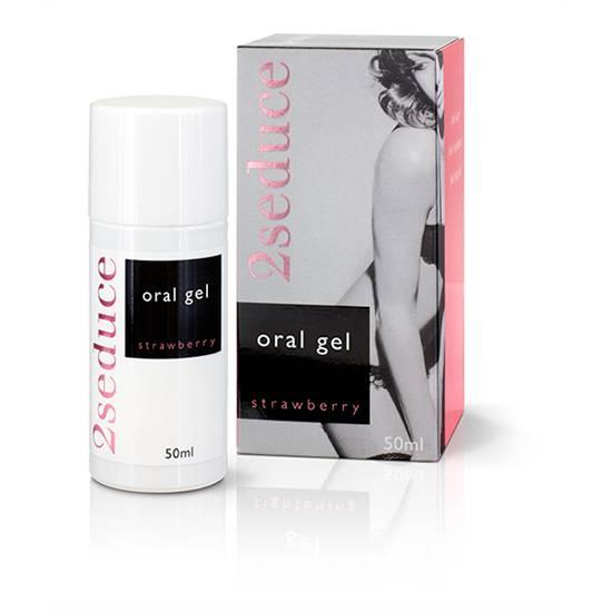 2SEDUCE GEL ORAL FRESA - Cosmética Erótica Cremas Femeninas - Sex Shop ARTICULOS EROTICOS