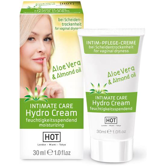 HOT INTIMATE CARE HYDRO GEL 30 ML - Cosmética Erótica Cremas Femeninas - Sex Shop ARTICULOS EROTICOS