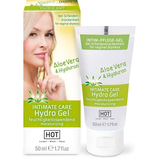 HOT INTIMATE CARE HYDRO GEL 50 ML - Cosmética Erótica Cremas Femeninas - Sex Shop ARTICULOS EROTICOS