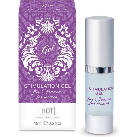 HOT O-STIMULATION GEL ESTIMULANTE PARA MUJERES 15 ML - Cosmética Erótica Cremas Femeninas - Sex Shop ARTICULOS EROTICOS