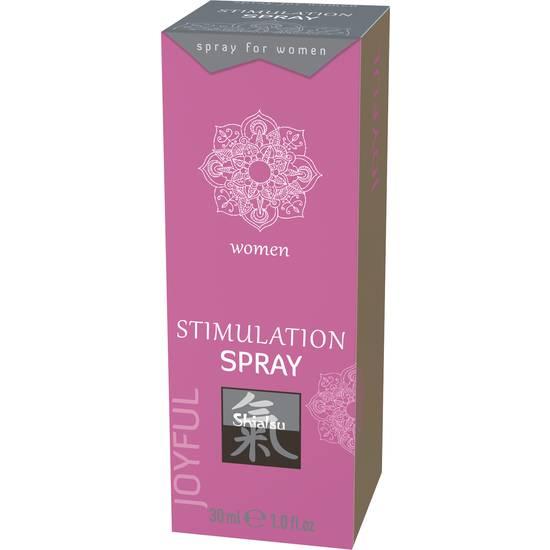 SHIATSU SPRAY ESTIMULANTE PARA ELLA 30ML - Cosmética Erótica Cremas Femeninas - Sex Shop ARTICULOS EROTICOS