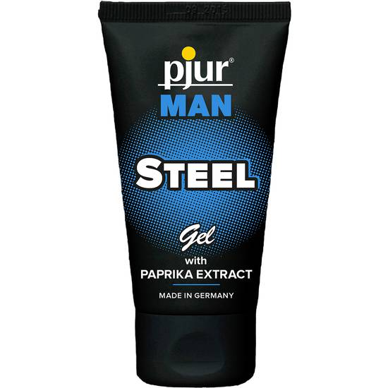 PJUR MAN STEEL GEL 50ML TUBE | AFRODISIACOS CREMAS MASCULINAS | Sex Shop
