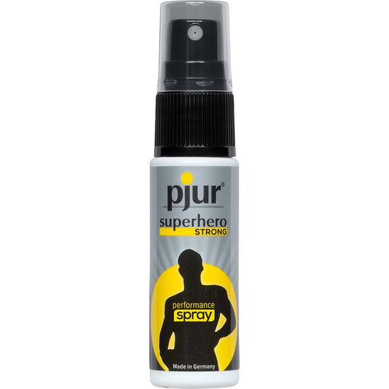 PJUR SUPERHERO SPRAY RETARDANTE 20 ML | AFRODISIACOS CREMAS MASCULINAS | Sex Shop