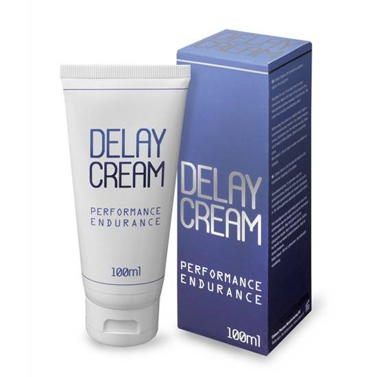DELAY CREAM CREMA RETARDANTE 100 ML - Cosmética Erótica Cremas Retardantes - Sex Shop ARTICULOS EROTICOS
