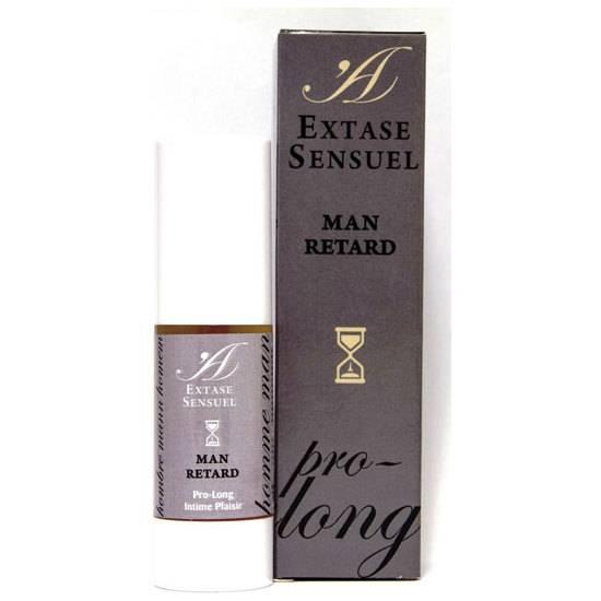 EXTASE SENSUEL MAN RETAR GEL RETARDANTE - Cosmética Erótica Cremas Retardantes - Sex Shop ARTICULOS EROTICOS