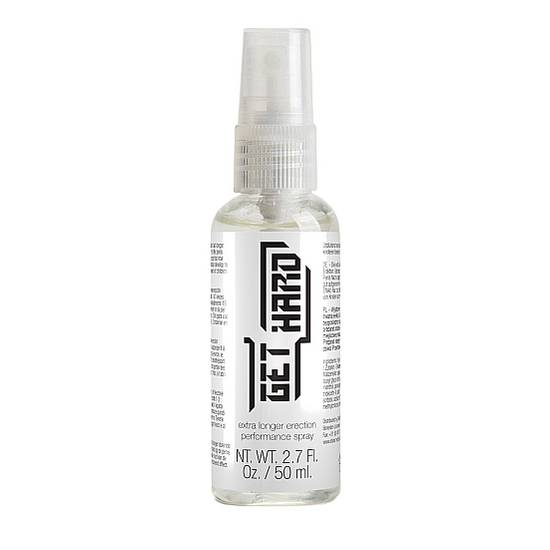 GET HARD SPRAY RETARDANTE DE LA ERECCION 50 ML - Cosmética Erótica Cremas Retardantes - Sex Shop ARTICULOS EROTICOS