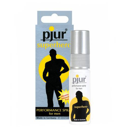 PJUR SUPERHERO SPRAY RETARDANTE | AFRODISIACOS CREMAS RETARDANTES | Sex Shop