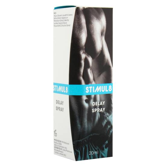 STIMUL8 SPRAY RETARDANTE | AFRODISIACOS CREMAS RETARDANTES | Sex Shop
