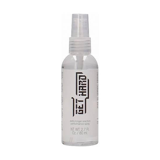 GET HARD - SPRAY PARA LA ERECCIÓN 80ML - Cosmética Erótica Cremas Vigorizantes - Sex Shop ARTICULOS EROTICOS