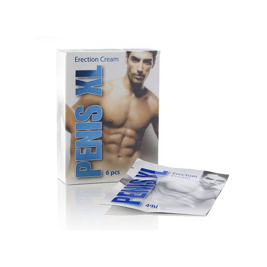 PENIS XL CREMA 4 ML | AFRODISIACOS CREMAS VIGORIZANTES | Sex Shop