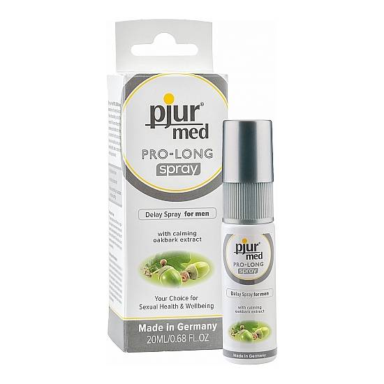 PJUR MED - PRO-LONG SPRAY - 20ML - Cosmética Erótica Cremas Vigorizantes - Sex Shop ARTICULOS EROTICOS