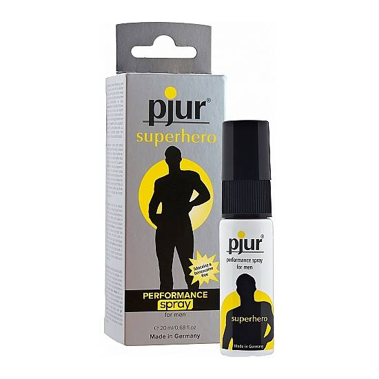 PJUR SUPERHERO - SPRAY - 20ML - Cosmética Erótica Cremas Vigorizantes - Sex Shop ARTICULOS EROTICOS