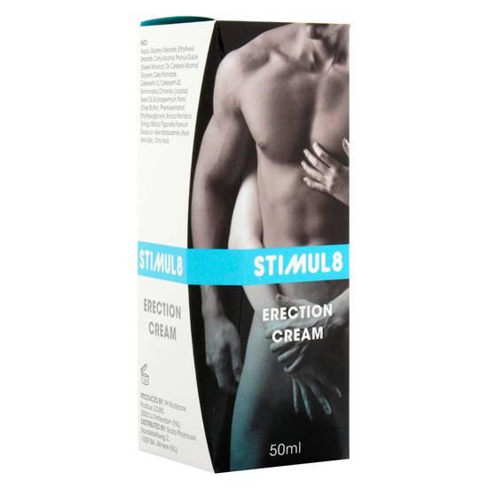 STIMUL8 CREMA DE ERECCION - Cosmética Erótica Cremas Vigorizantes - Sex Shop ARTICULOS EROTICOS