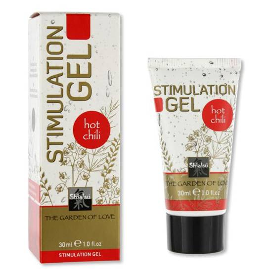 SHIATSU GEL ESTIMULANTE HOT CHILI - Cuidado Íntimo Gel - Sex Shop ARTICULOS EROTICOS