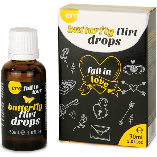 BUTTERFLY FLIRT DROPS 30ML - GOTAS DEL AMOR | AFRODISIACOS DILUIBLES | Sex Shop