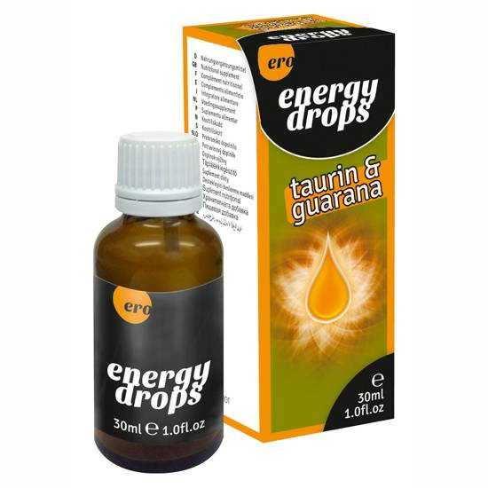 ERO ENERGY DROPS TAURIN AND GUARANA | AFRODISIACOS DILUIBLES | Sex Shop