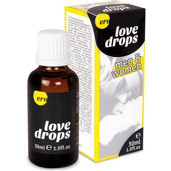 ERO LOVE DROPS FOR MEN AND WOMEN 30 ML | AFRODISIACOS DILUIBLES | Sex Shop