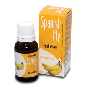 SPANISH FLY GOTAS DEL AMOR DULCE BANANA | AFRODISIACOS DILUIBLES | Sex Shop