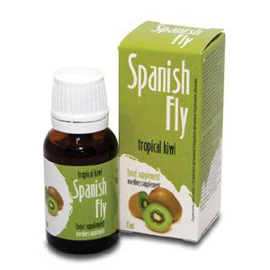 SPANISH FLY GOTAS DEL AMOR KIWI TROPICAL | AFRODISIACOS DILUIBLES | Sex Shop