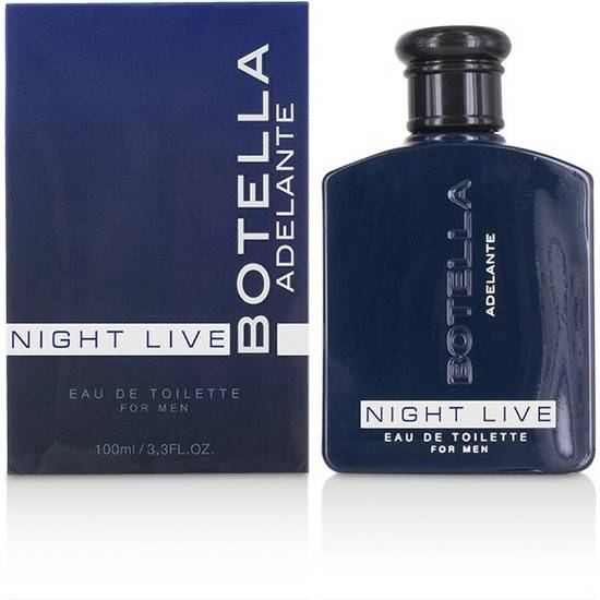 BOTELLA NIGHT LIVE PERFUME PARA HOMBRE 100ML - Afrodisiácos Perfumes - Sex Shop ARTICULOS EROTICOS