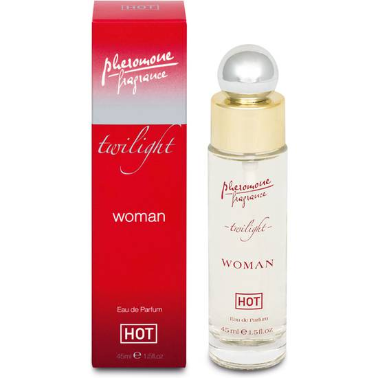 HOT PERFUME DE FEROMONAS PARA MUJER 45 ML - Afrodisiácos Perfumes - Sex Shop ARTICULOS EROTICOS