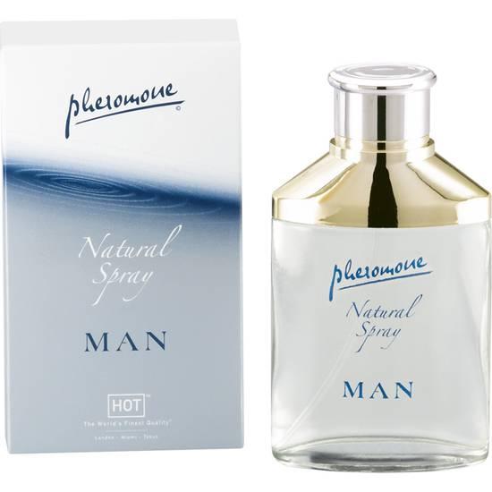 HOT SPRAY NEUTRO CON FEROMONAS PARA HOMBRE EXTRA FUERTE 50 M - Afrodisiácos Perfumes - Sex Shop ARTICULOS EROTICOS