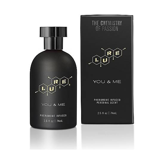 LURE BLACK LABEL FOR YOU & ME PERFUME FEROMONAS UNISEX 74ML - Afrodisiácos Perfumes - Sex Shop ARTICULOS EROTICOS