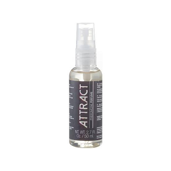PERFUME ATTRACT  50 ML - Afrodisiácos Perfumes - Sex Shop ARTICULOS EROTICOS