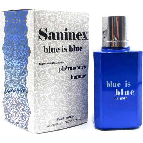 SANINEX PERFUME PHÉROMONES BLUE IS BLUE MEN - Afrodisiácos Perfumes - Sex Shop ARTICULOS EROTICOS