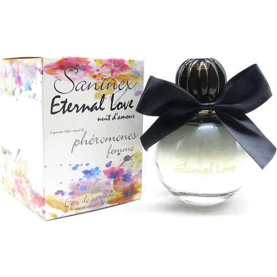 SANINEX PERFUME PHÉROMONES ETERNAL LOVE MOD. NUIT D´AMOUR WOMAN | AFRODISIACOS PERFUMES | Sex Shop