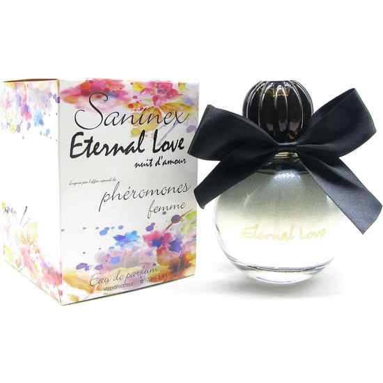 SANINEX PERFUME PHÉROMONES ETERNAL LOVE MOD. NUIT D´AMOUR WOMAN - Afrodisiácos Perfumes - Sex Shop ARTICULOS EROTICOS