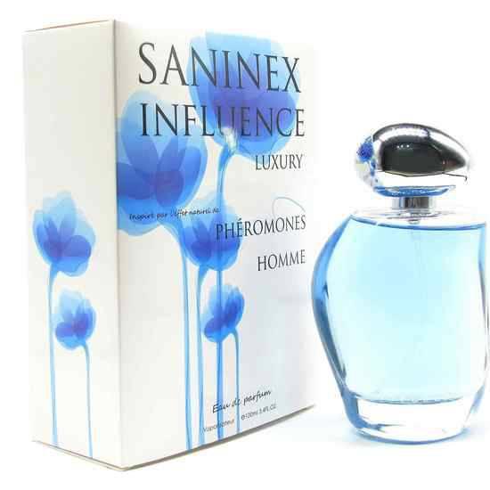 SANINEX PERFUME PHÉROMONES INFLUENCE MOD. LUXURY MEN - Afrodisiácos Perfumes - Sex Shop ARTICULOS EROTICOS