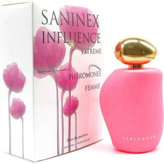 SANINEX PERFUME PHÉROMONES SANINEX INFLUENCE EXTREME WOMAN - Afrodisiácos Perfumes - Sex Shop ARTICULOS EROTICOS