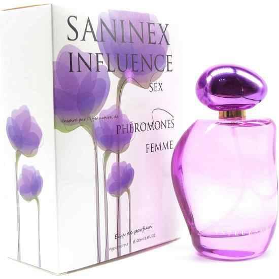SANINEX PERFUME PHÉROMONES SANINEX INFLUENCE SEX WOMAN - Afrodisiácos Perfumes - Sex Shop ARTICULOS EROTICOS